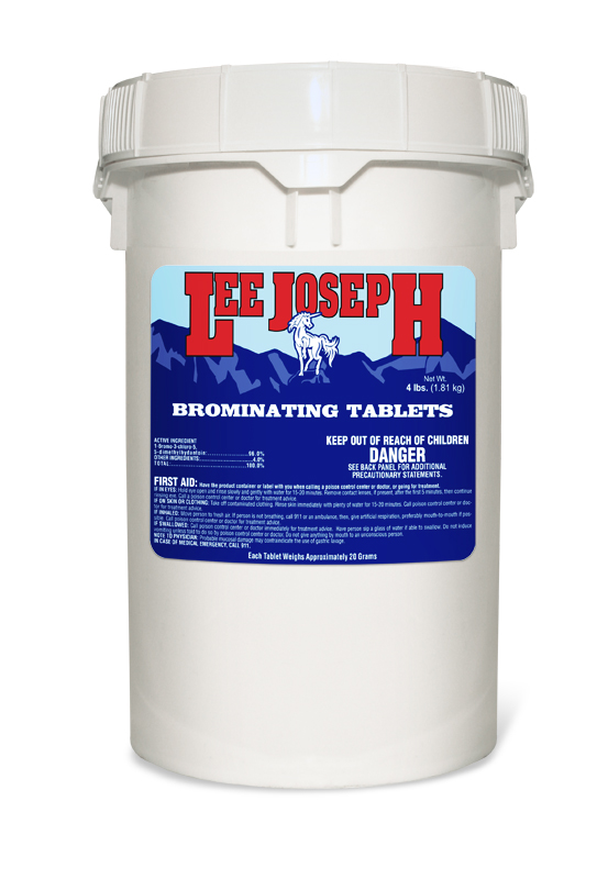 Lee Joseph Brominating Tablets 50lb